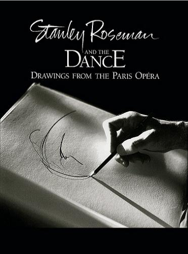 "Book cover of ""Stanley Roseman and the Dance - Drawings from the Paris Opera."" Photo by Ronald Davis."
